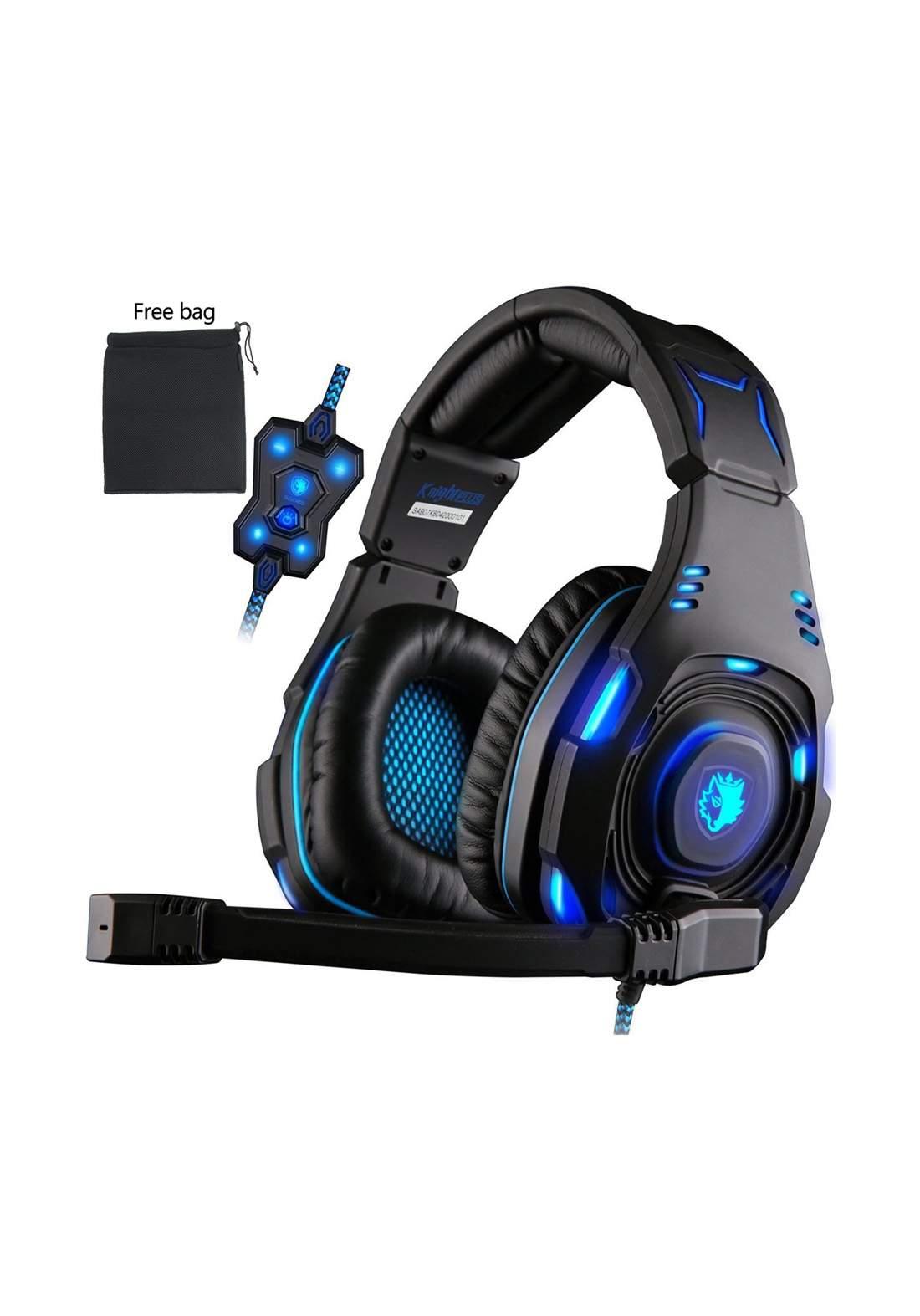 Sades SA-907 Gaming Headphone - Black سماعة