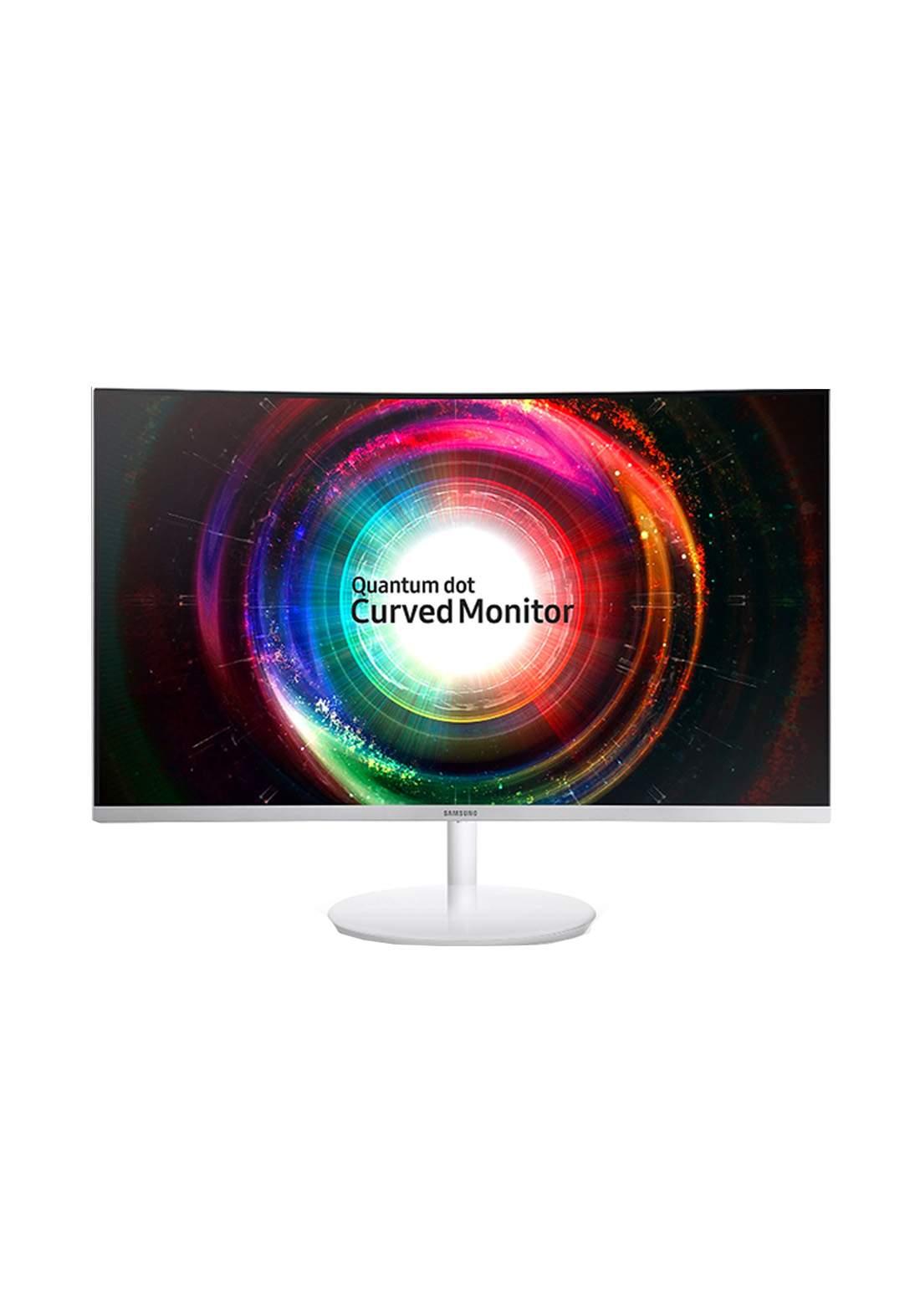 Samsung C27H711 WQHD VA FreeSync Curved Monitor 27 - White