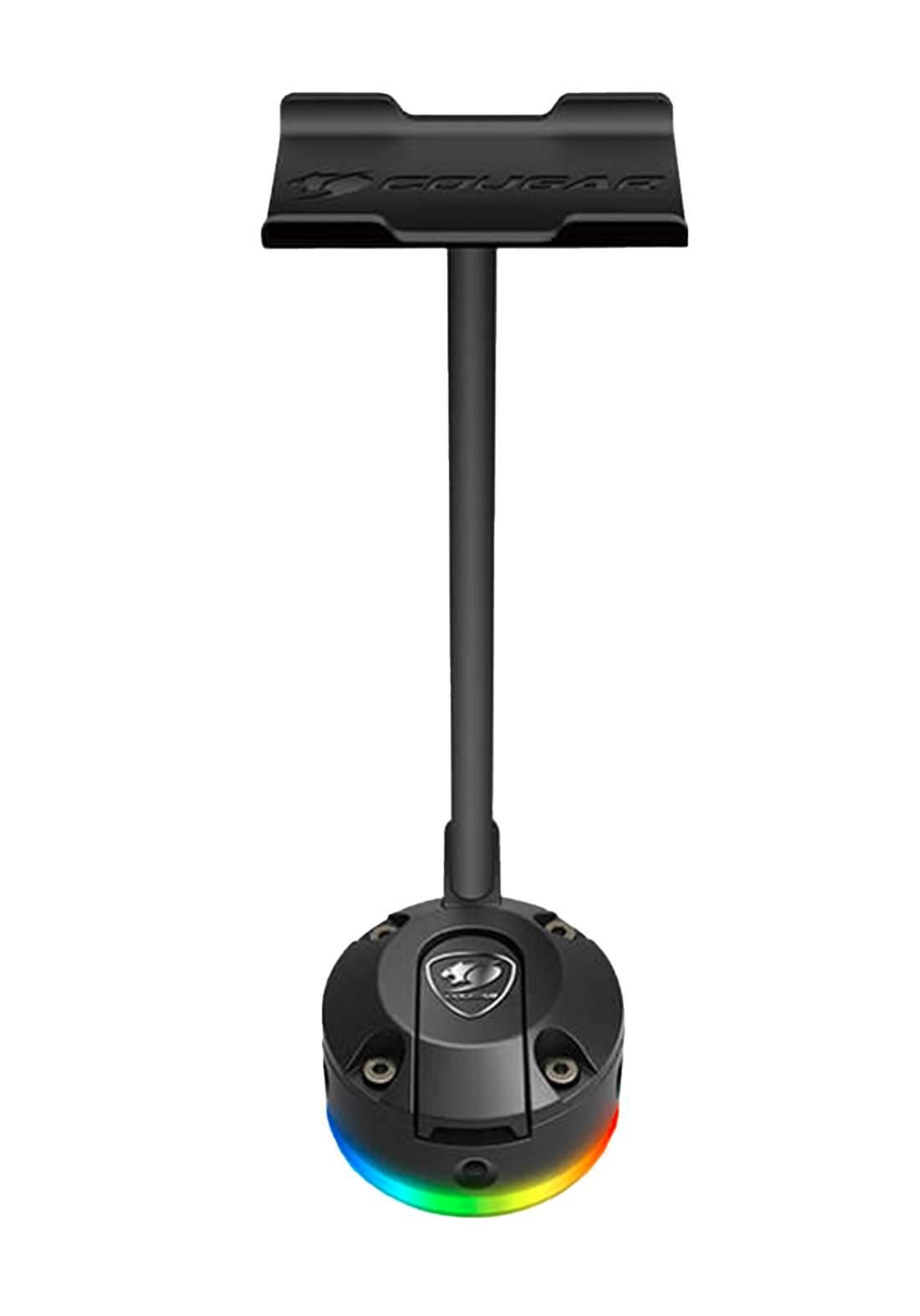 Cougar Bunker S RGB Headset Stand - Black حامل سماعة