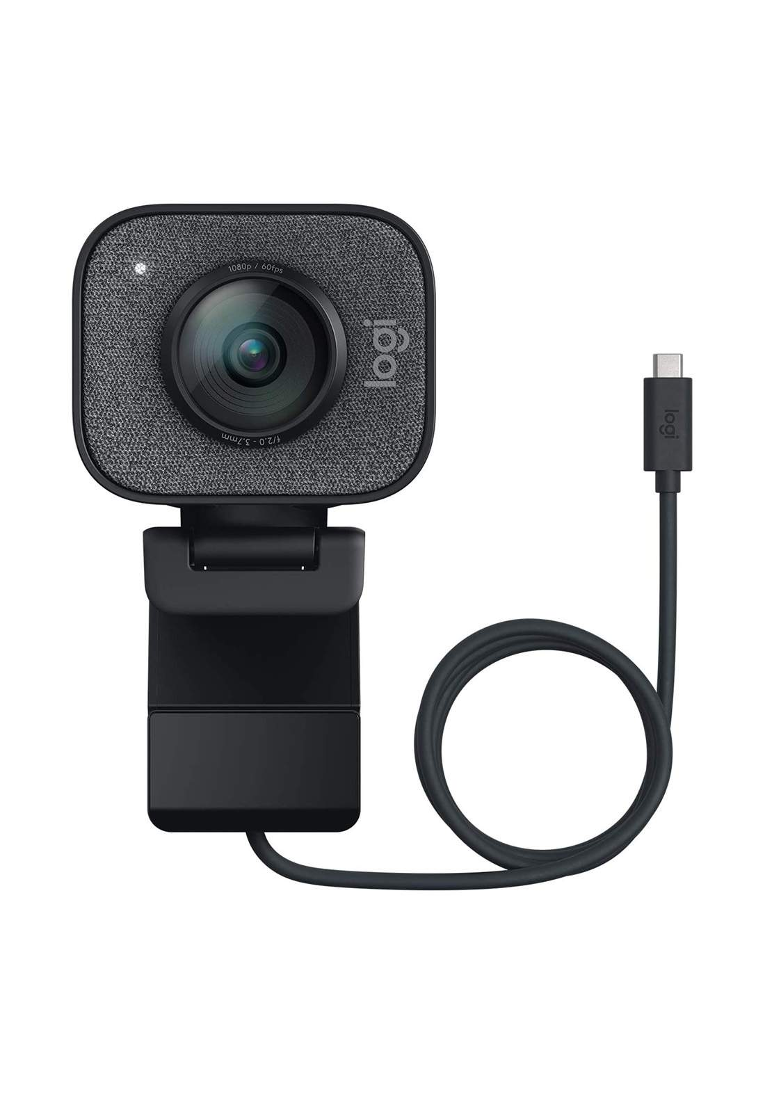 Logitech StreamCam Plus Webcam with Tripod - Black كاميرا ويب
