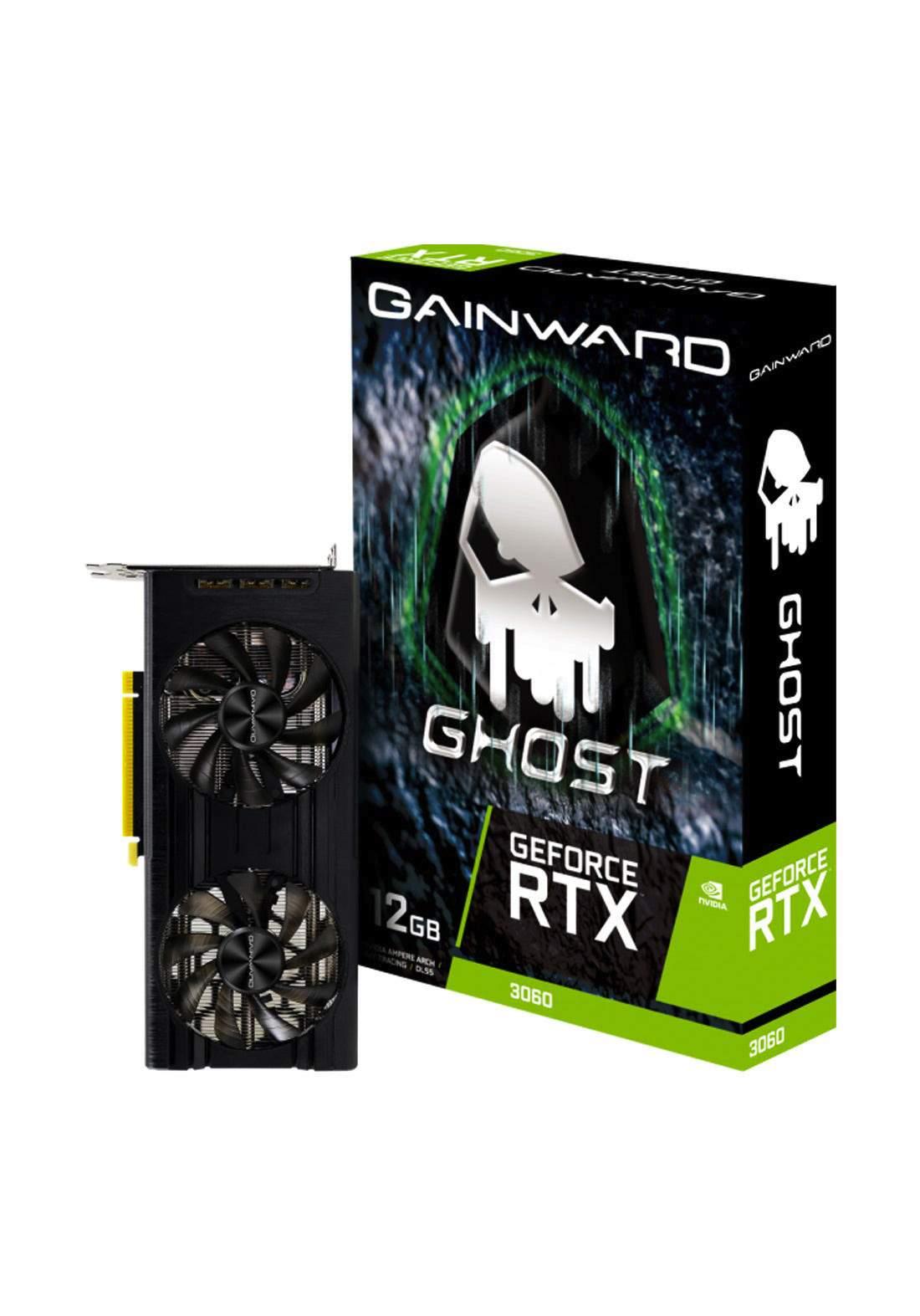 Gainward GeForce RTX 3060 Ghost 12GB  Graphics Card - Black