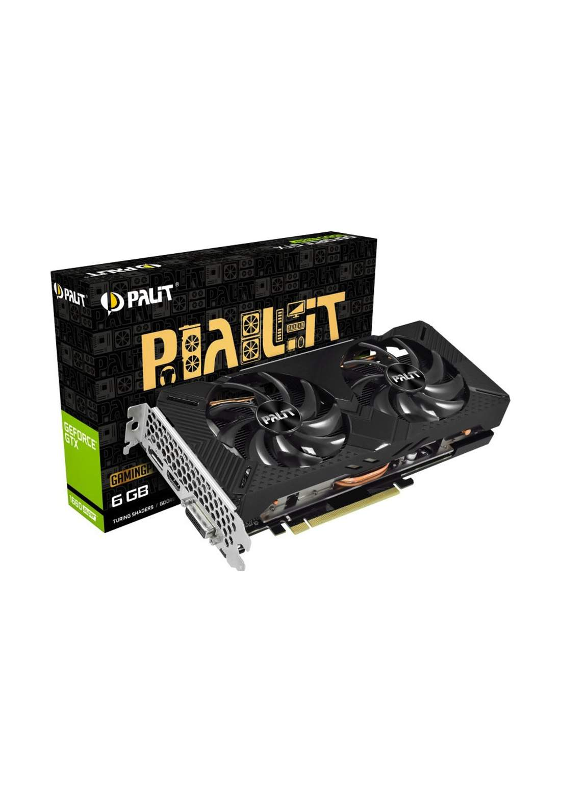 Palit GeForce GTX 1660 SUPER GP OC 8G Graphics Card