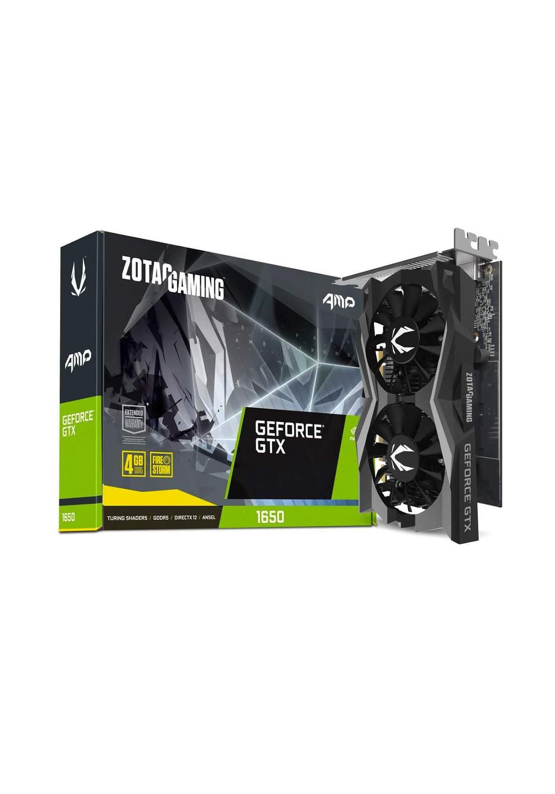 Zotac Gaming Geforce GTX 1650 AMP Edition 4GB GDDR5