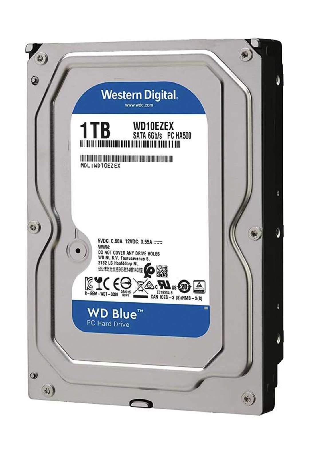 Western Digital HDD WD 1TB  7200RPM - Blue هارد داخلي