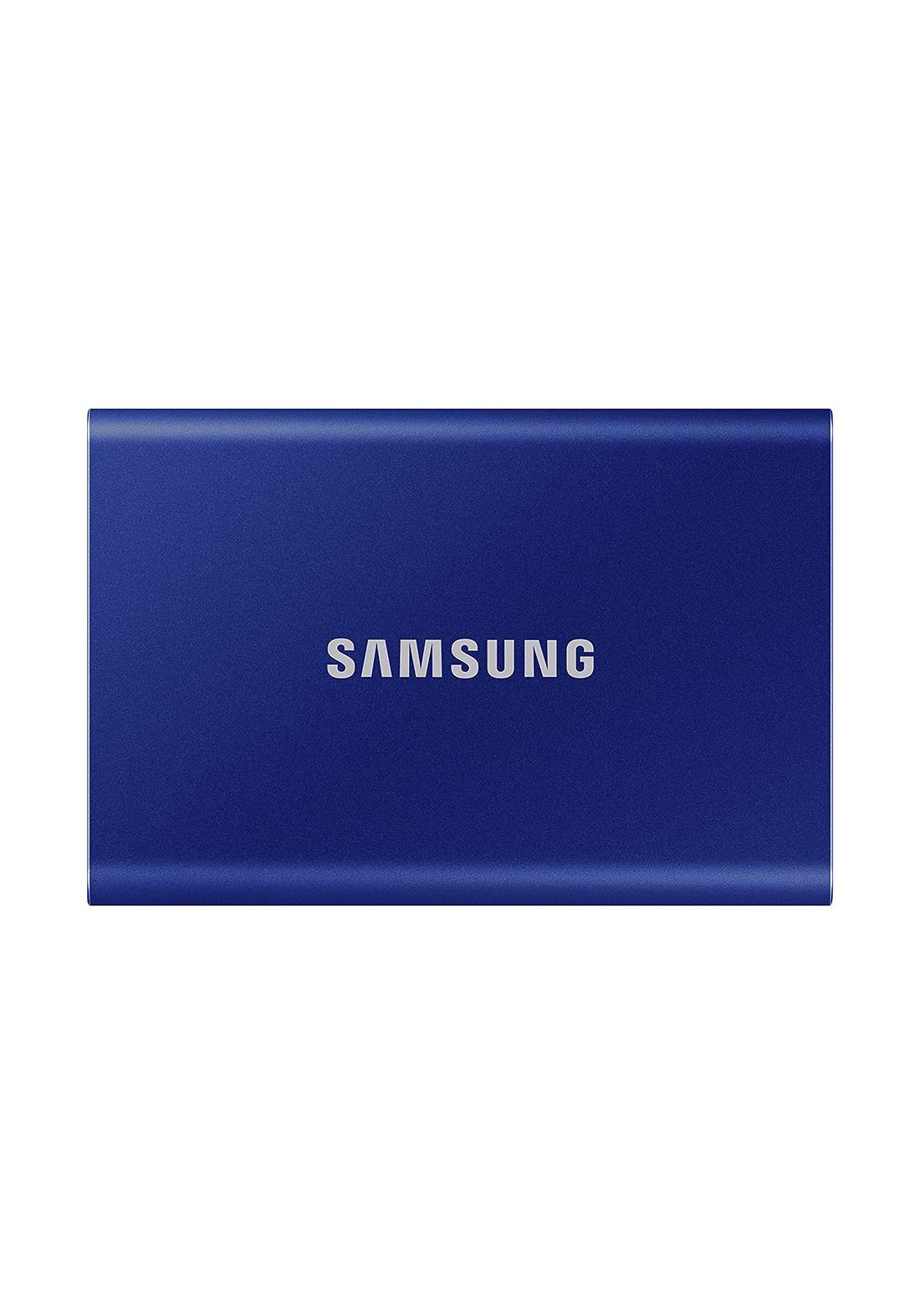 Samsung 500GB T7 Portable Solid State Drive - Blue