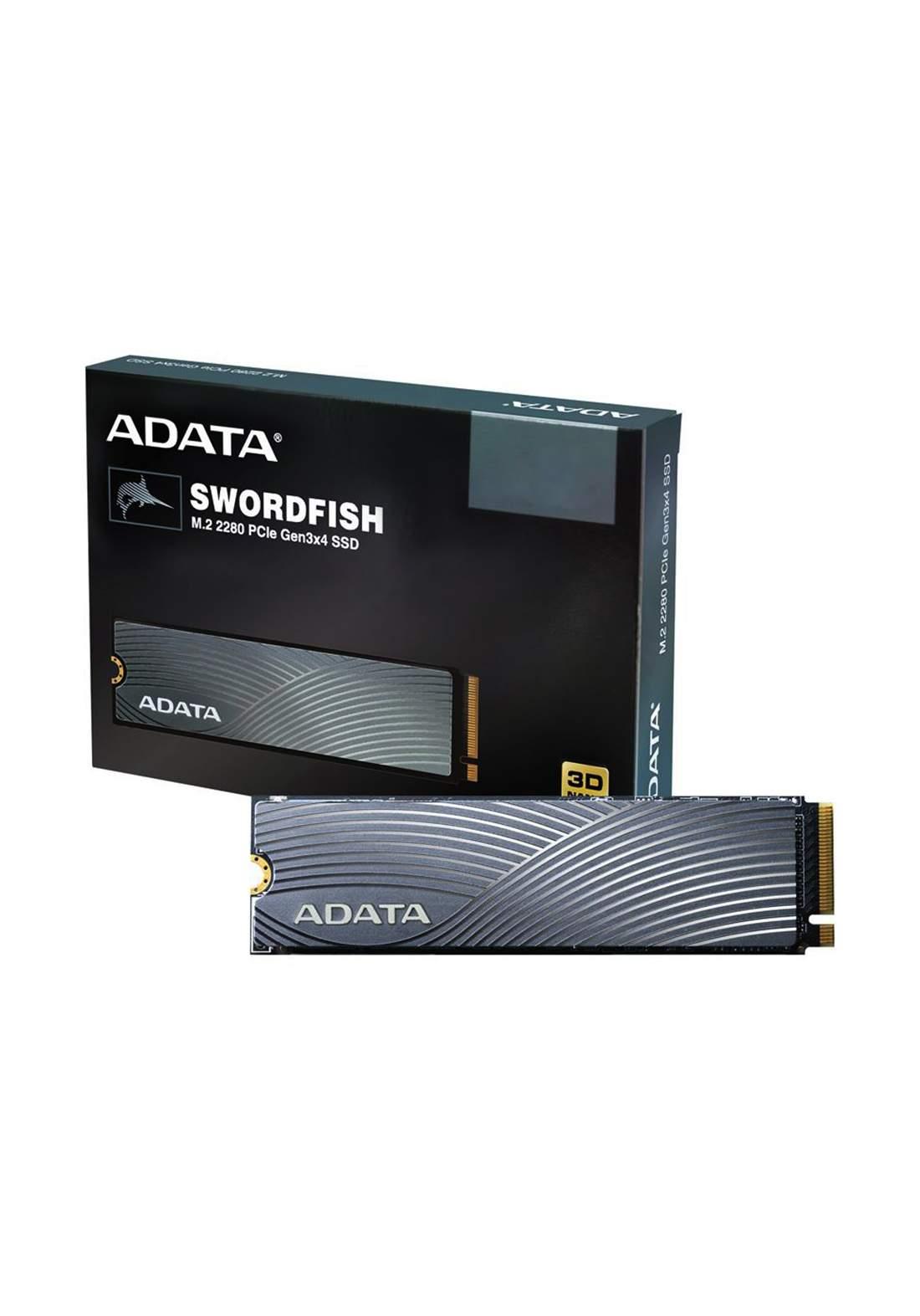 Adata Swordfish 500GB 3D NAND PCIe Gen3x4 NVMe M.2 Solid State Drive