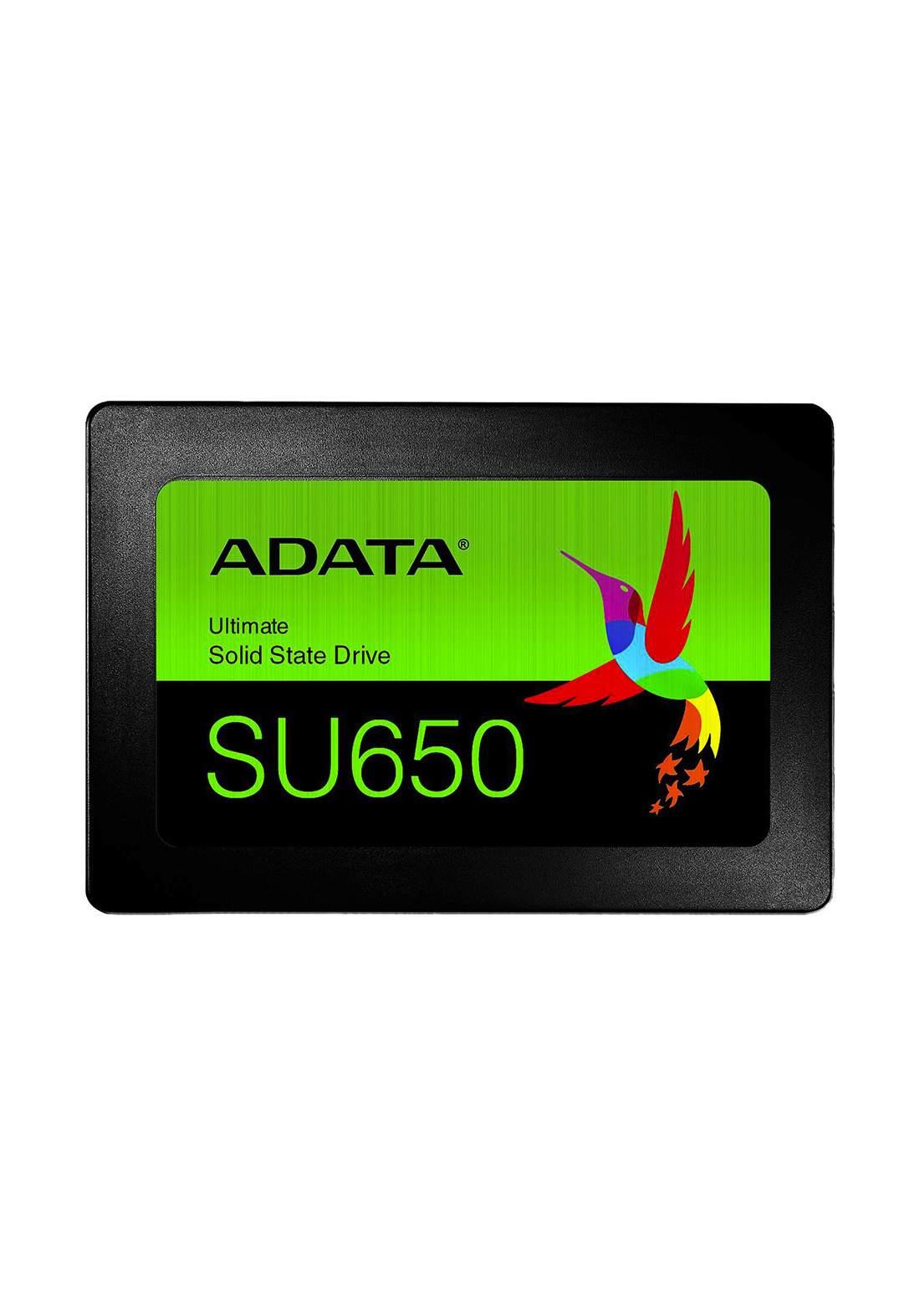 """Adata SU650 480GB 2.5"""" SATA  520MB/s Internal Solid State Drive"""