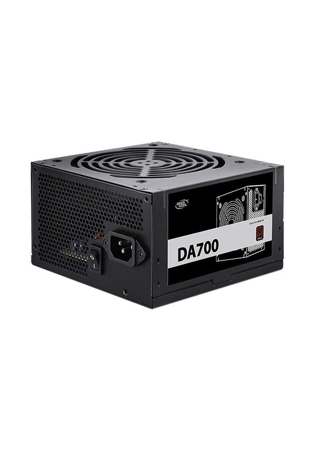 DeepCool DA700 80 Plus Bronze Certified 700W Power Supply - Black