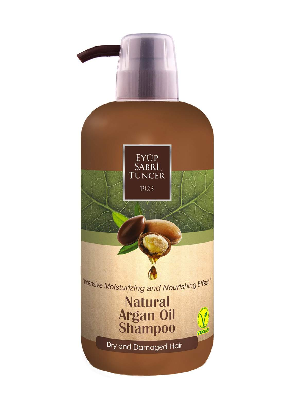 Eyup Sabri Tuncer  Natural Argan Oil Shampoo 600 ml شامبو  بزيت الأرغان الطبيعي