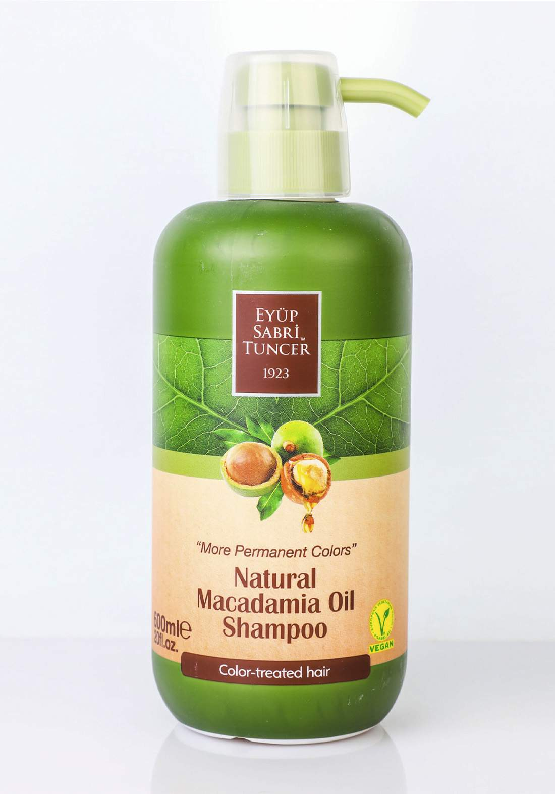 Eyup Sabri Tuncer Natural  Macadamia Oil  Shampoo 600ml شامبو بزيت المكاديميا الطبيعي