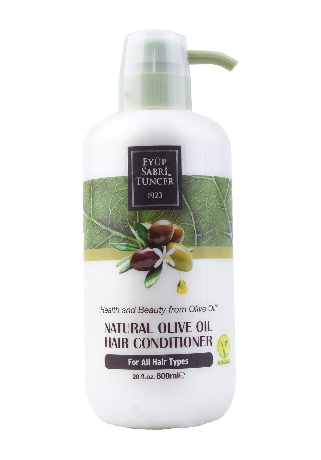 Eyup Sabri Tuncer Natural Olive Oil Hair Conditioner 600ml بلسم شعر بزيت الزيتون