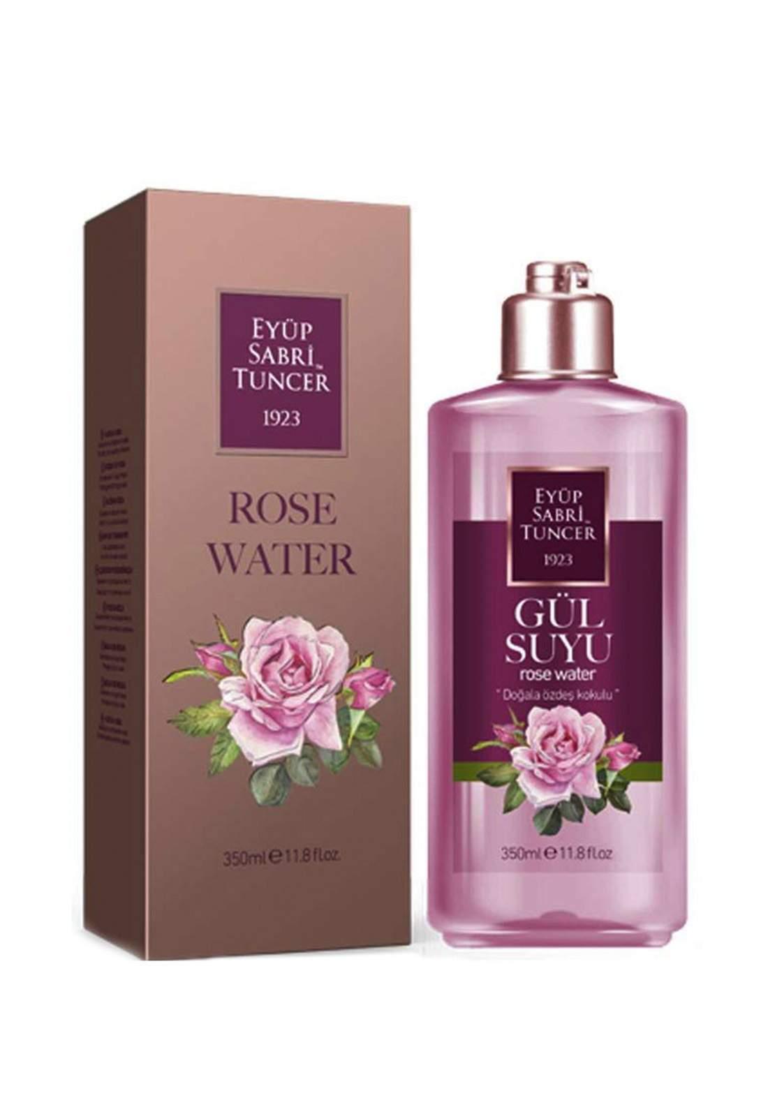 Eyup Sabri Tuncer Rose Water 350 ml مزيل مكياج بماء الورد