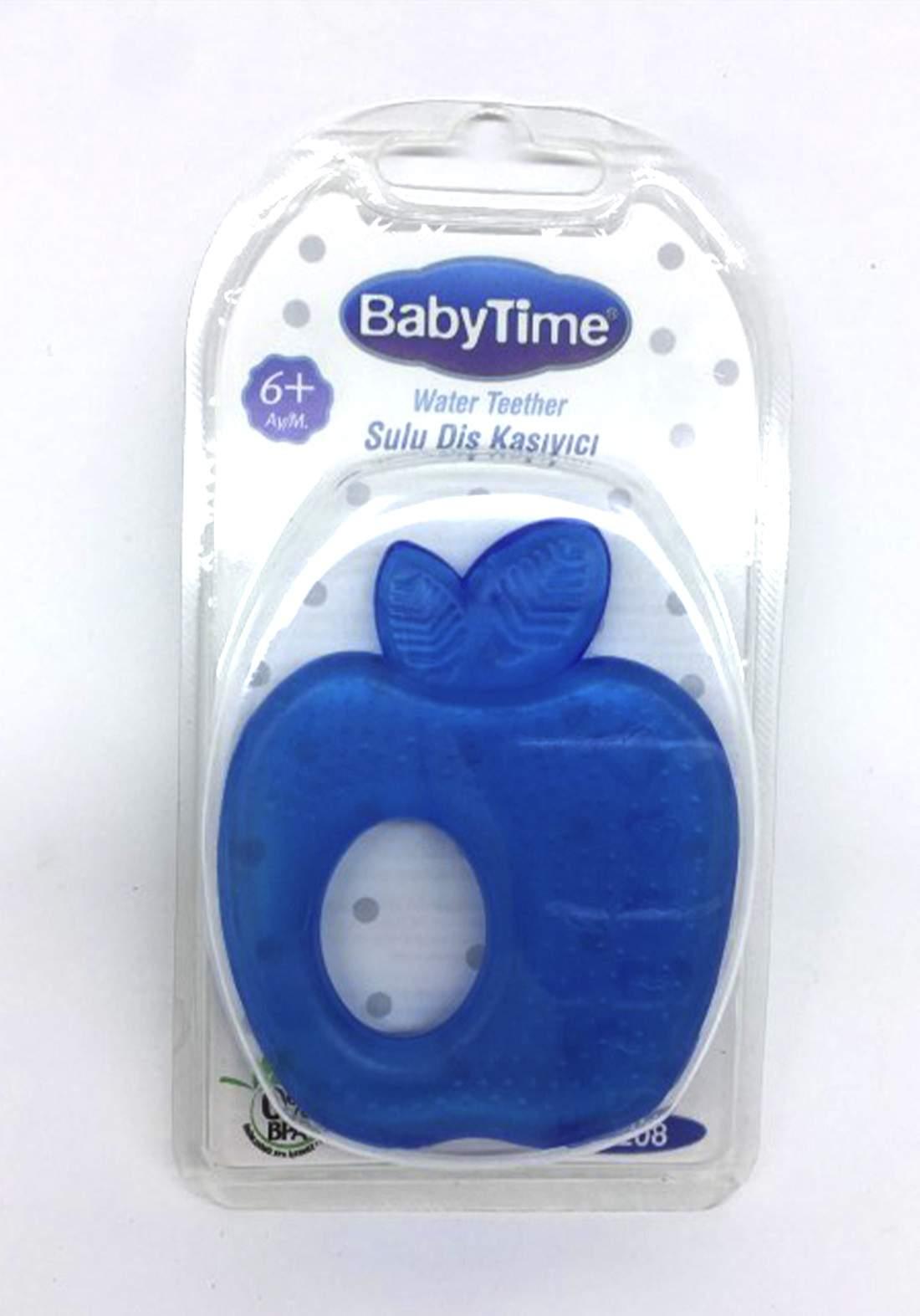 BabyTime BT208 Water Teether (+6m) - Blue  عضاضة طفل