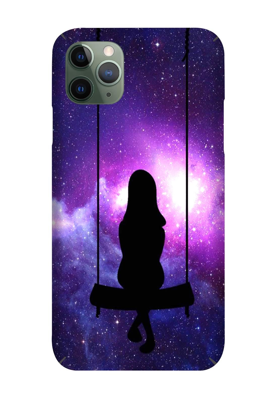 Protective Cover For Iphone 11 Pro - Purple  حافظة موبايل