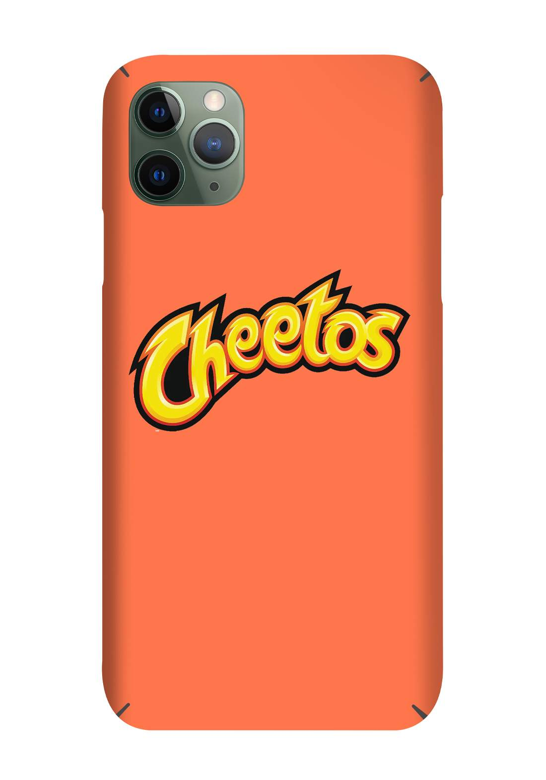 Protective Cover For Iphone 11 Pro - Orange حافظة موبايل