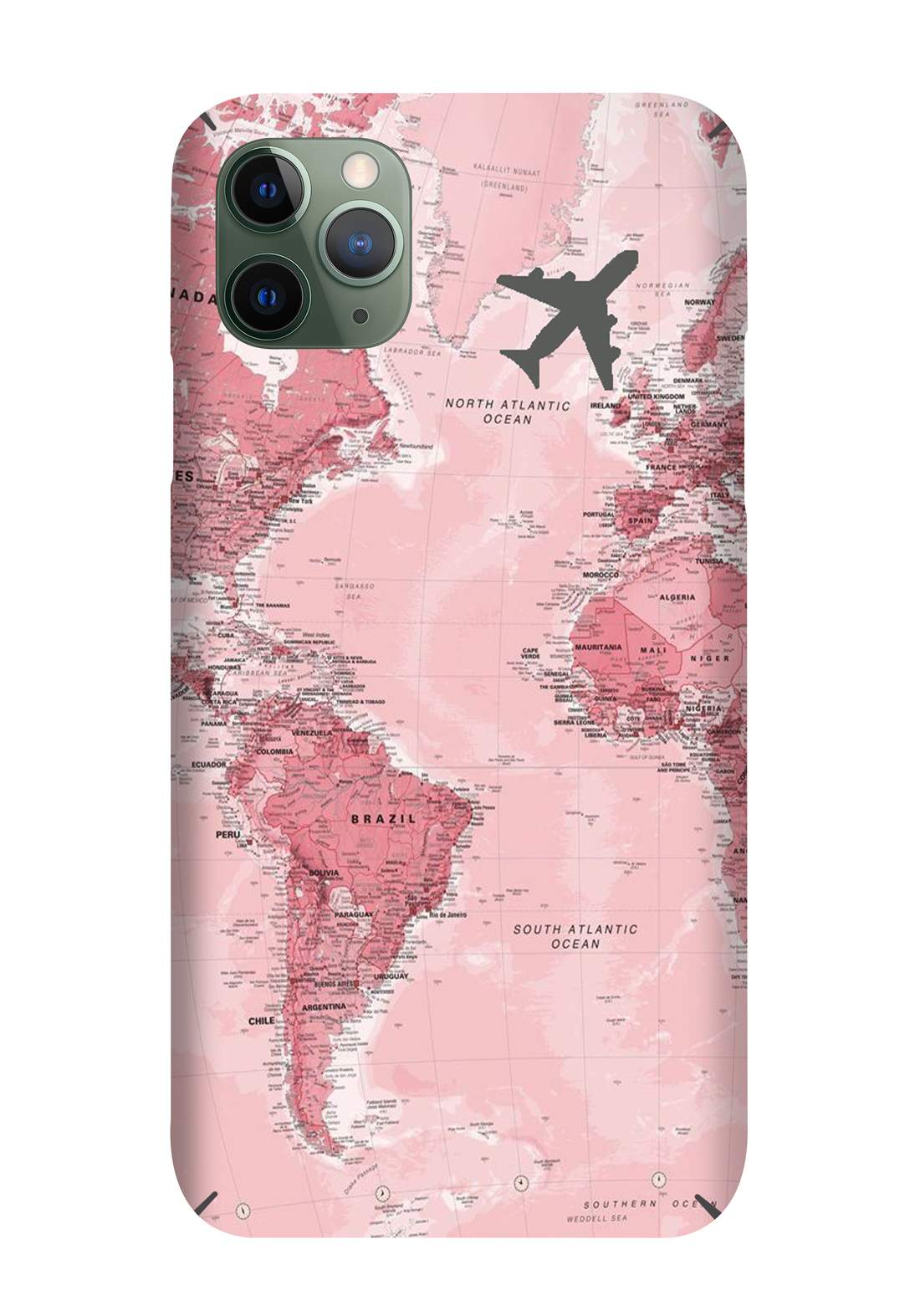Protective Cover For Iphone 11 Pro -  Pink حافظة موبايل