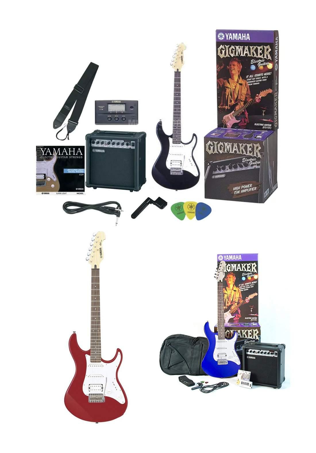 Yamaha Gigmaker Eg112 Electric Guitar جيتار كهربائي
