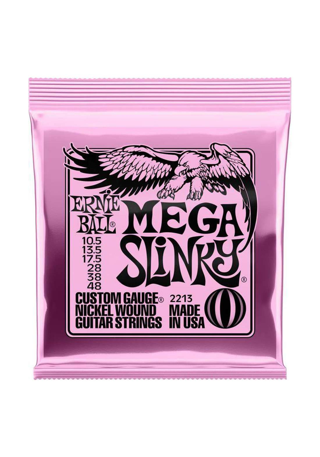 Electric Guitar Ernie Ball Strings 2213 Mega Slinky - اوتار جيتار