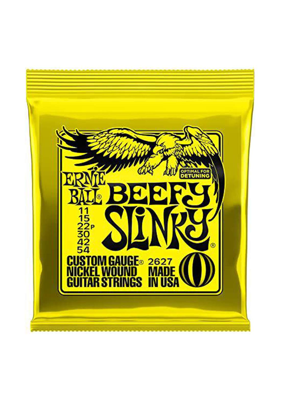 Electric Guitar Ernie Ball Strings 2627 Beefy Slinky - اوتار جيتار