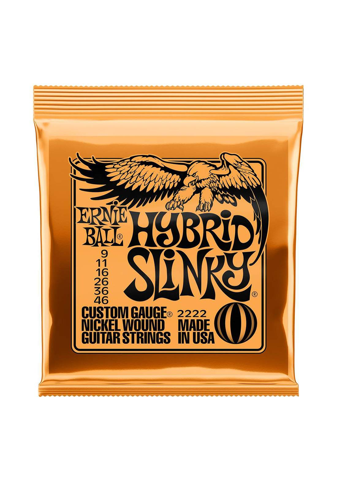 Electric Guitar Ernie Ball Strings 2222 Hybird Slinky - اوتار جيتار