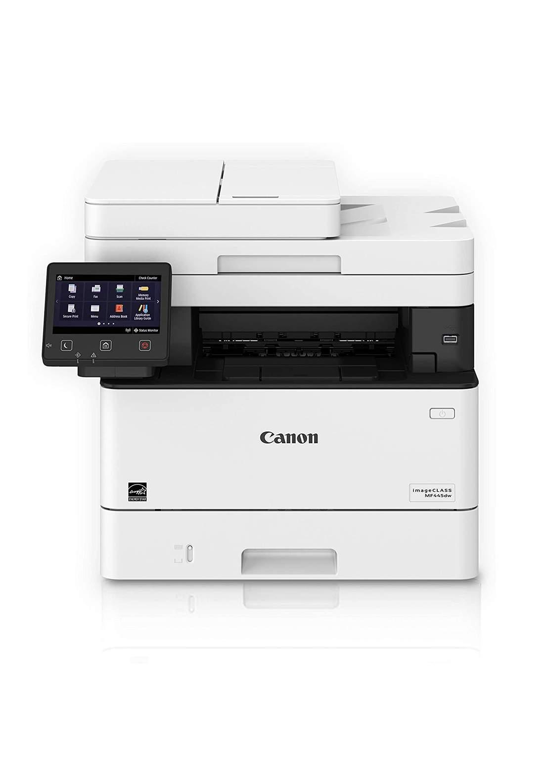 Canon imageCLASS MF445dw Monochrome Laser Printer - White طابعة