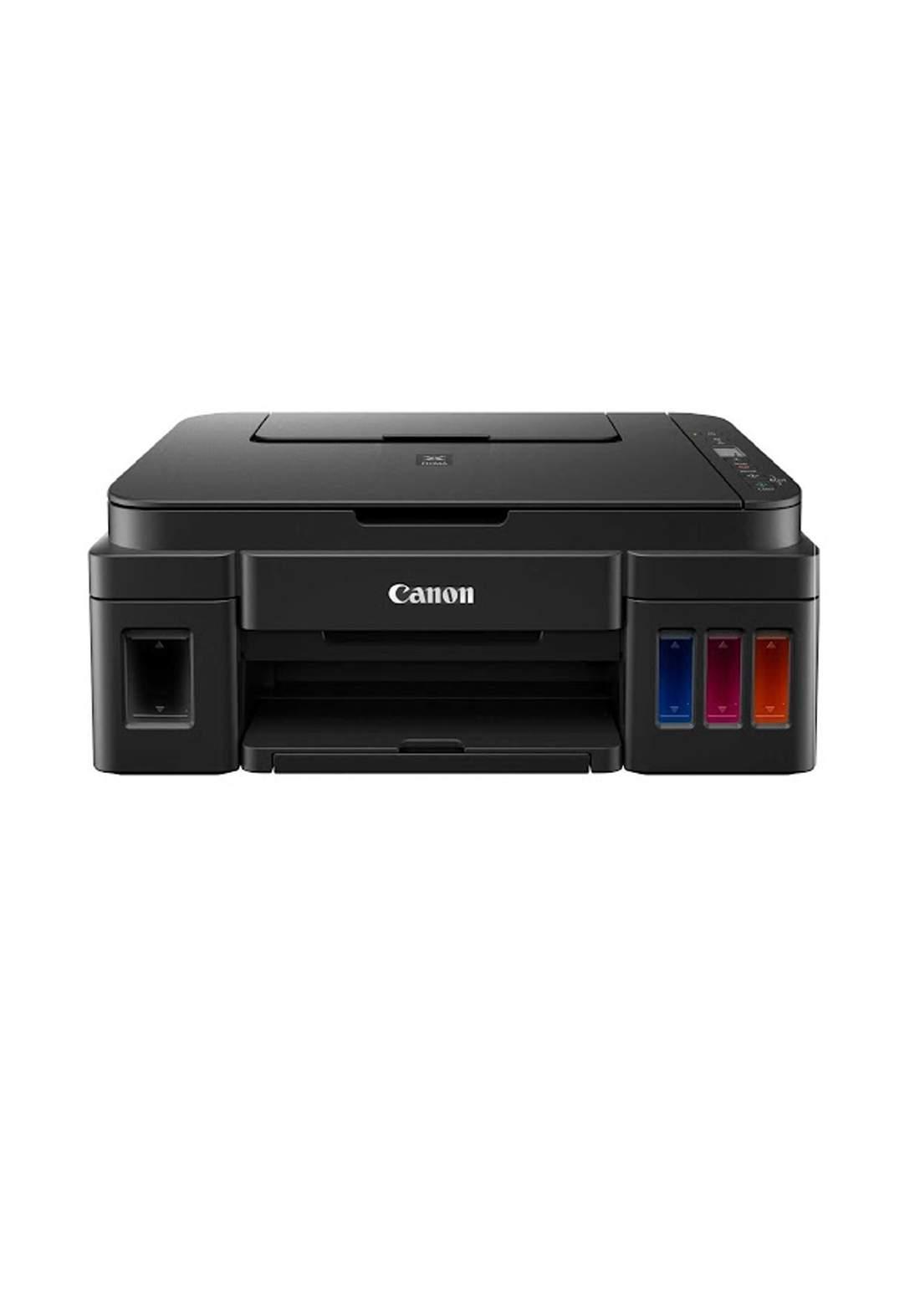 Canon  PIXMA G2411 Multifunction Printer - Black طابعة