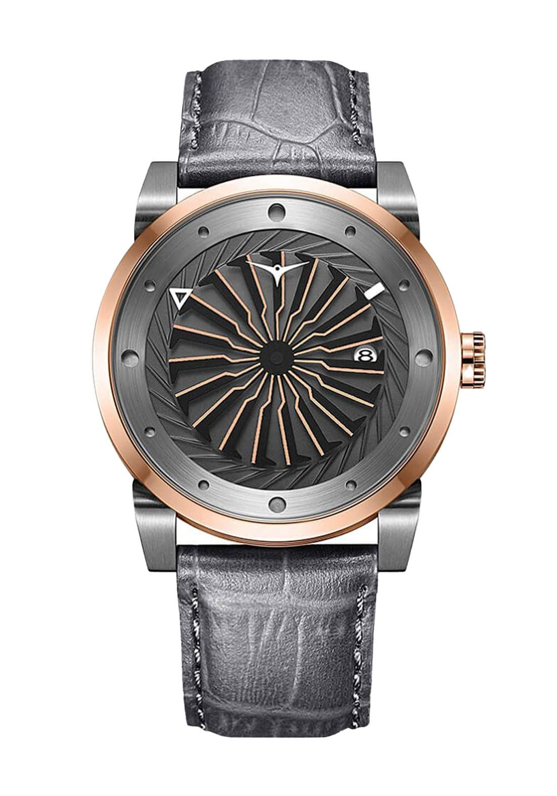 Zinvo Rival Fusion Watch For Men - Gray  ساعة رجالي