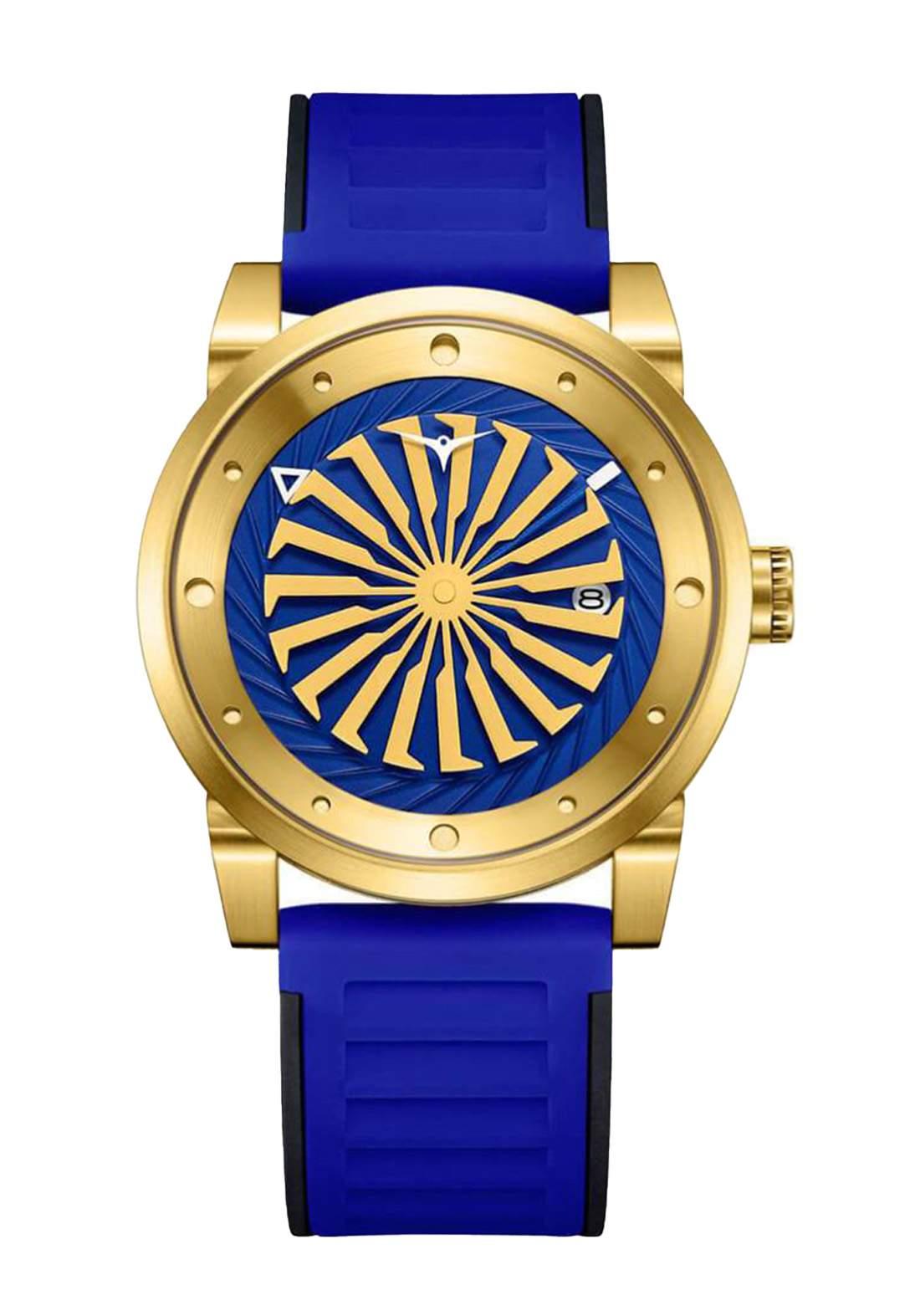 Zinvo Rival Volt Watch For Men - Blue ساعة رجالي