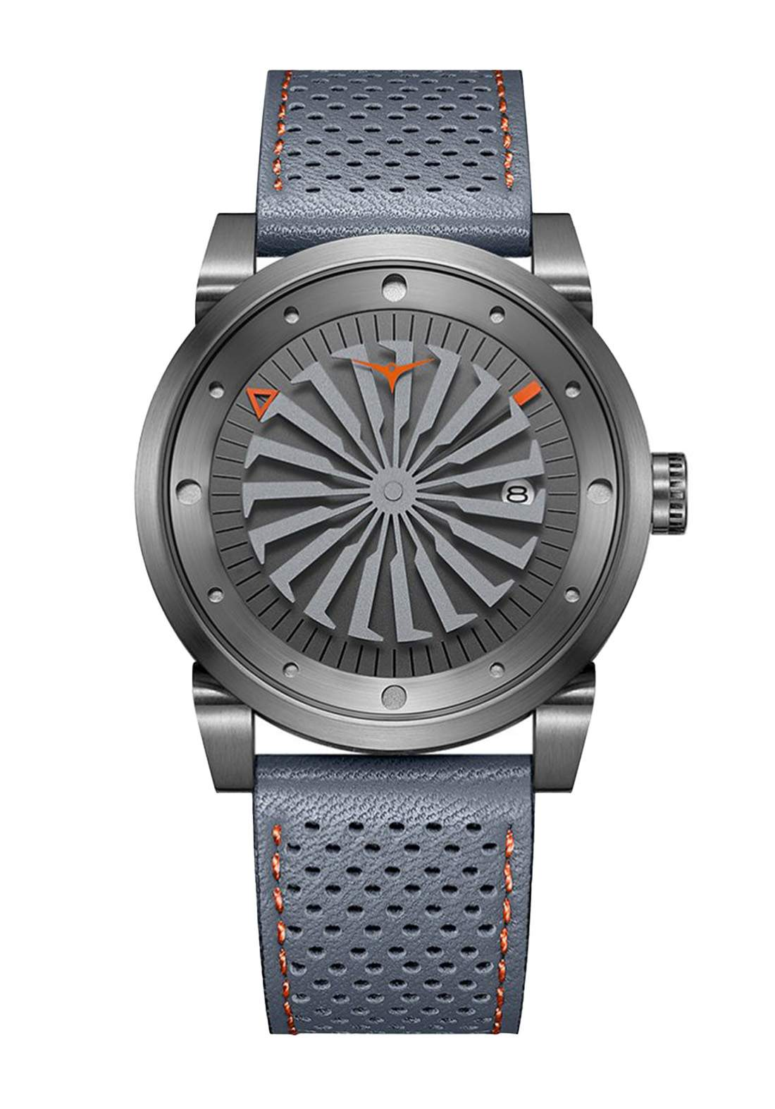 Zinvo Rival Ethos Watch For Men - Gray ساعة رجالي