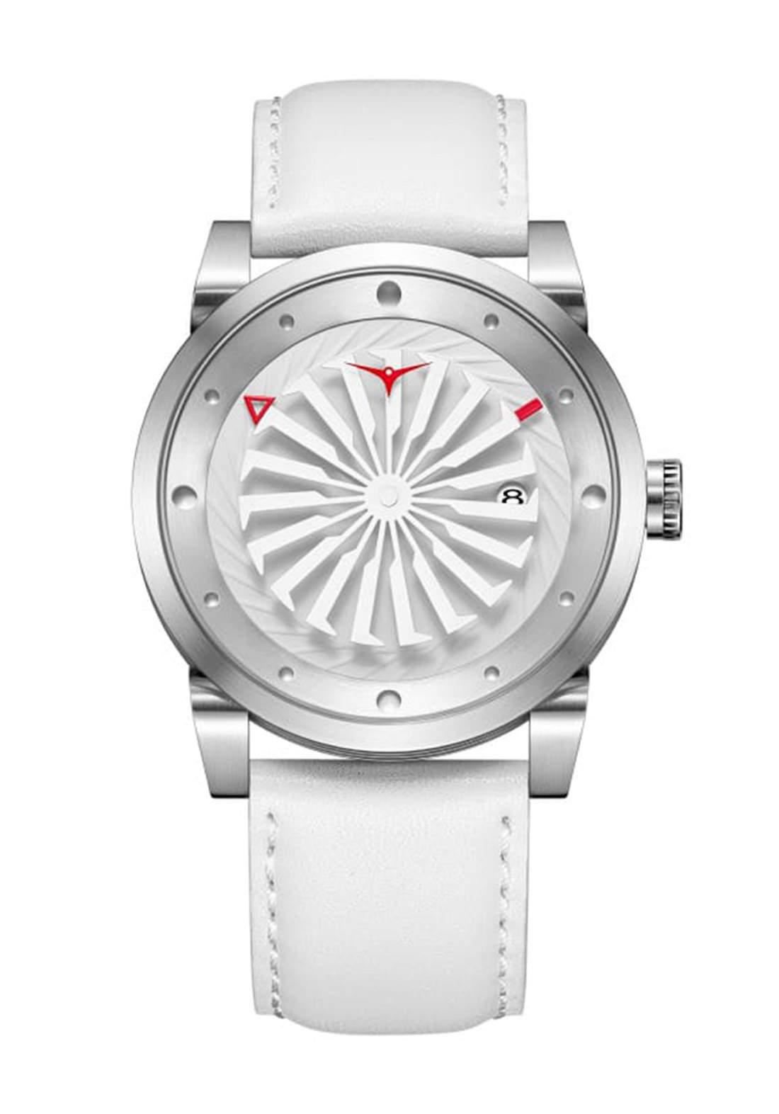 Zinvo Rival Magic Watch For Men - White  ساعة رجالي