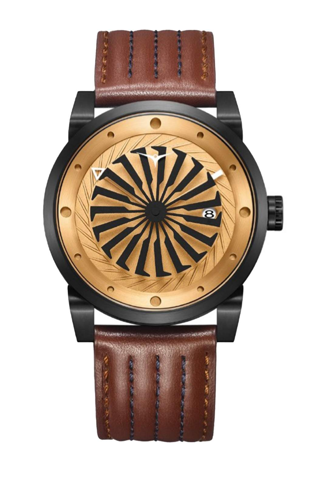 Zinvo Rival Outlaw Watch For Men - Brown  ساعة رجالي