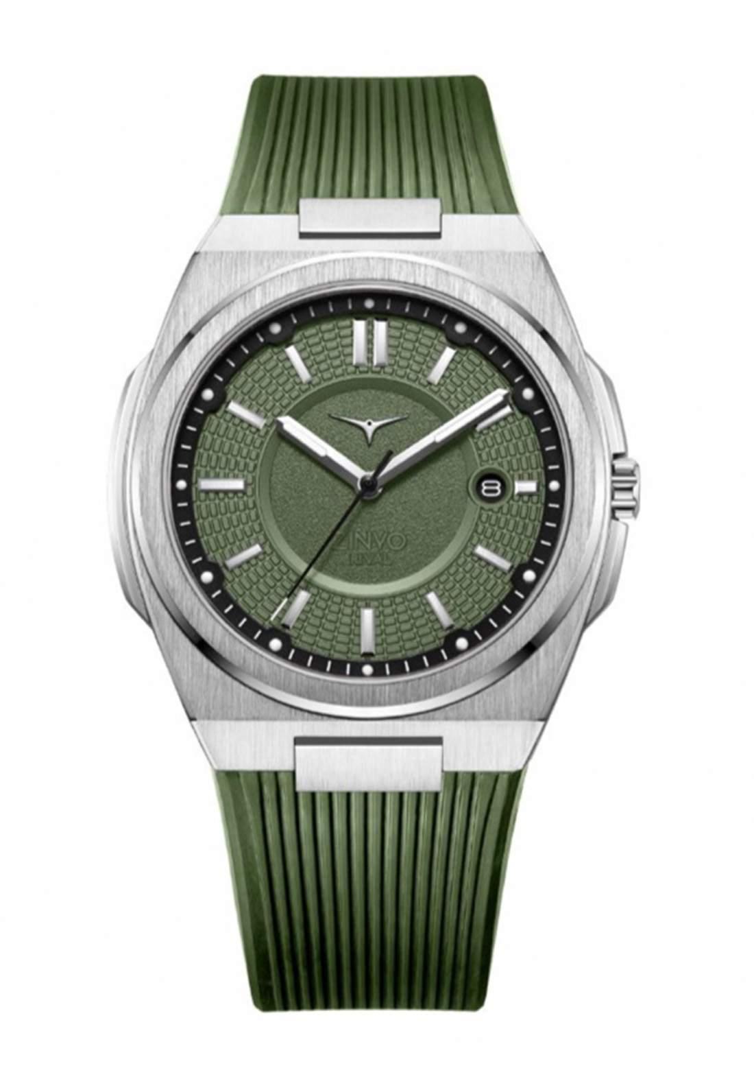 Zinvo Rival Oasis Watch For Men - Green  ساعة رجالي