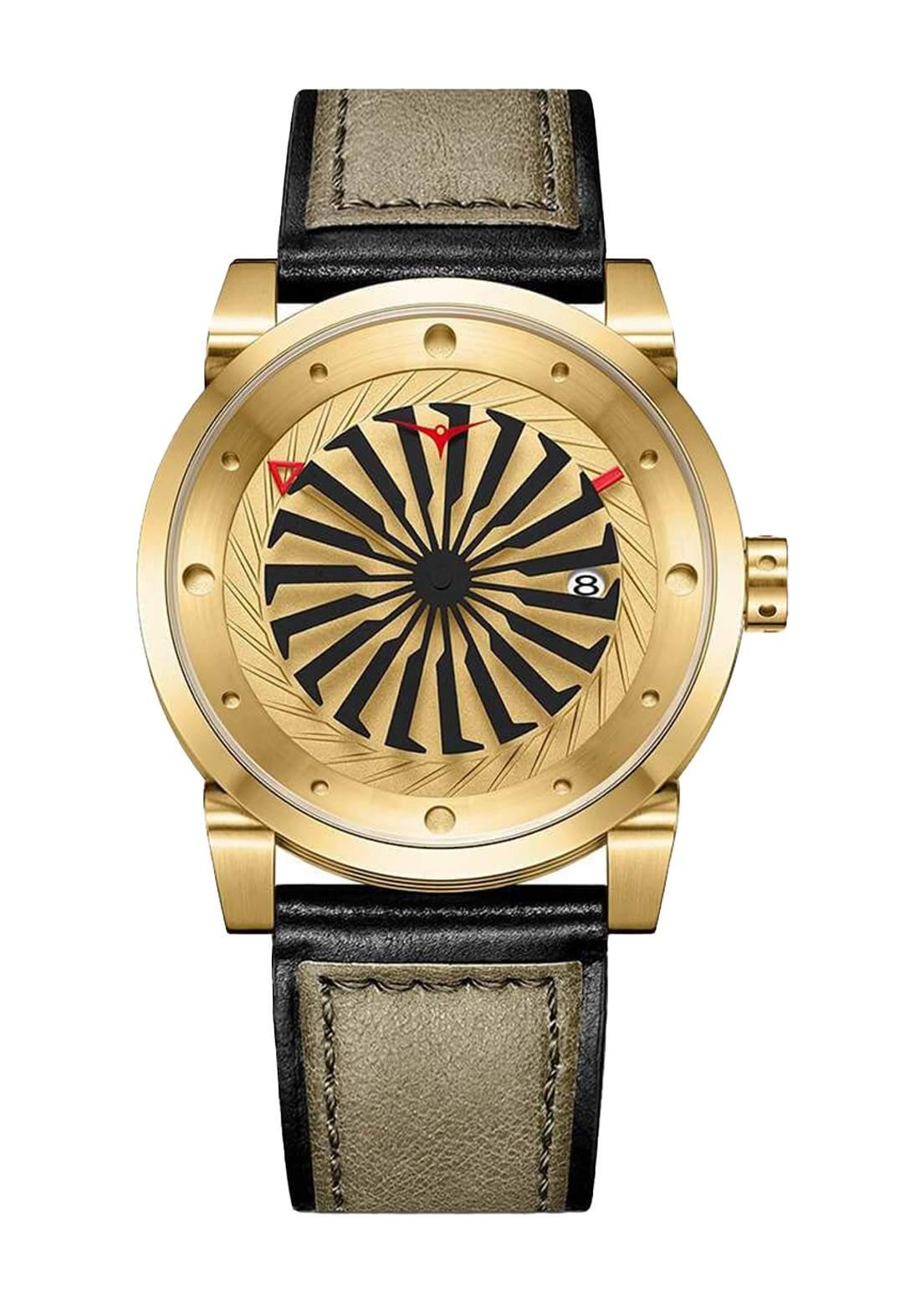 Zinvo Rival Corsa Watch For Men - Gold ساعة رجالي