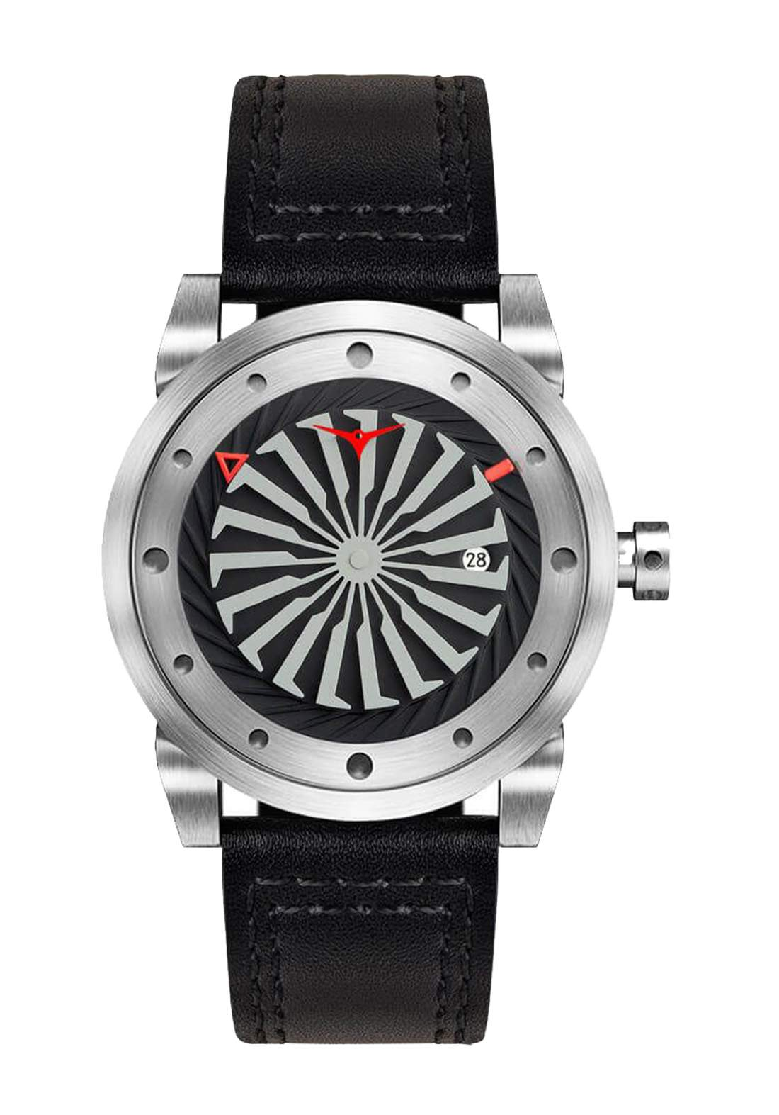 Zinvo Rival Watch For Men - Silver  ساعة رجالي