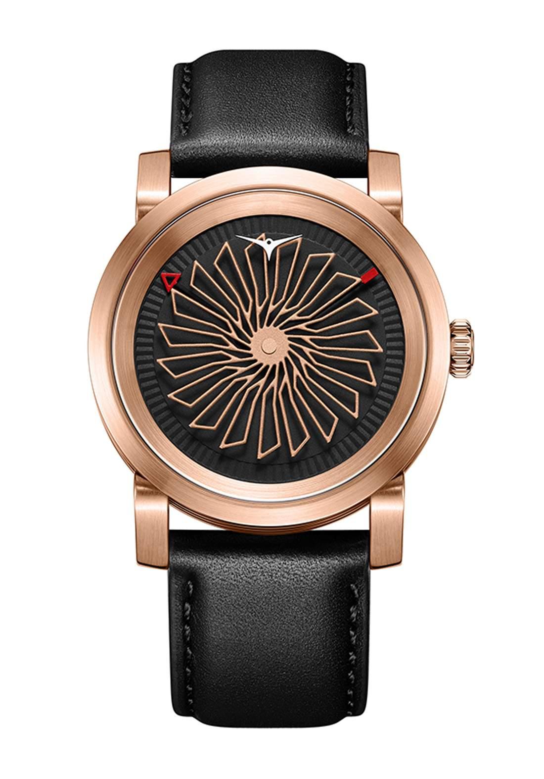 Zinvo Rival Rose Gold Watch For Women  ساعة نسائي