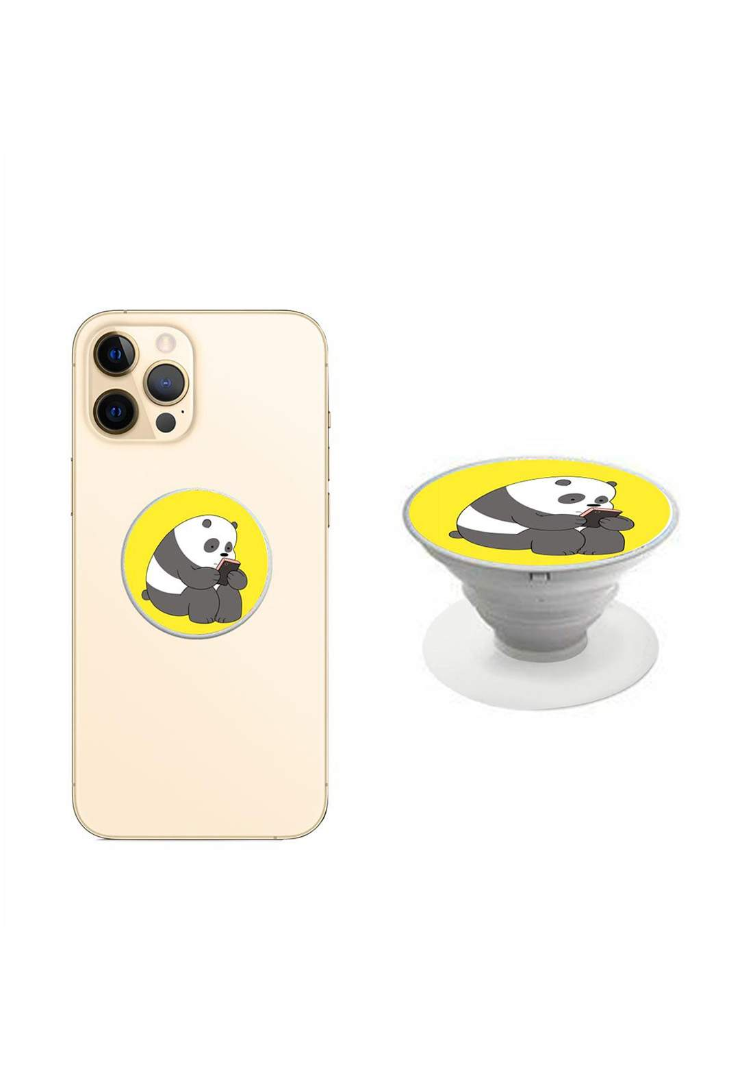 Foldable Grip and Stand for Mobile Phones حلقة حاملة للموبايل