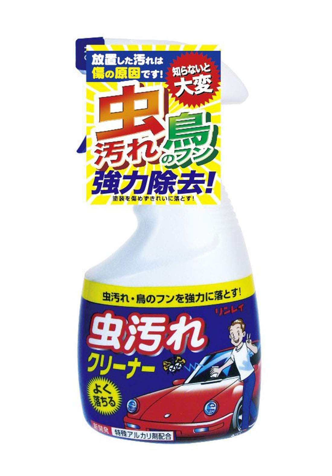Rinrei 290218 Insect Stain Cleaner Spray 400 ml  ملمع زجاج السيارة