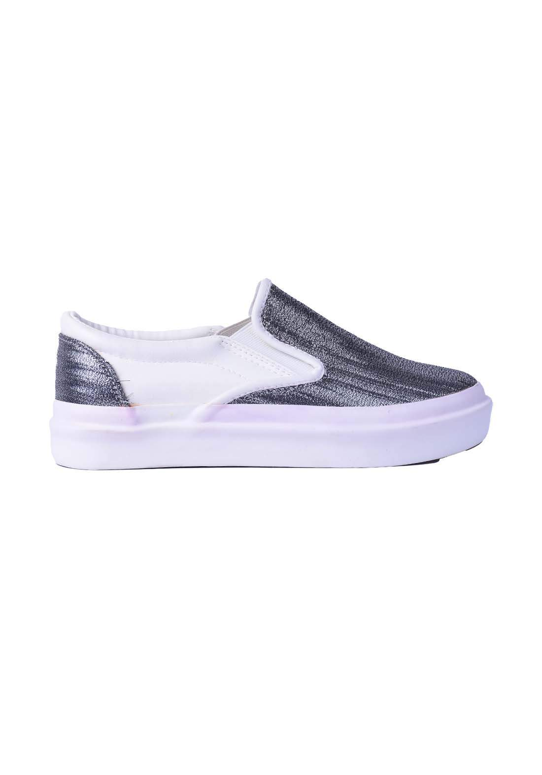 حذاء نسائي قماش متعدد الالوان