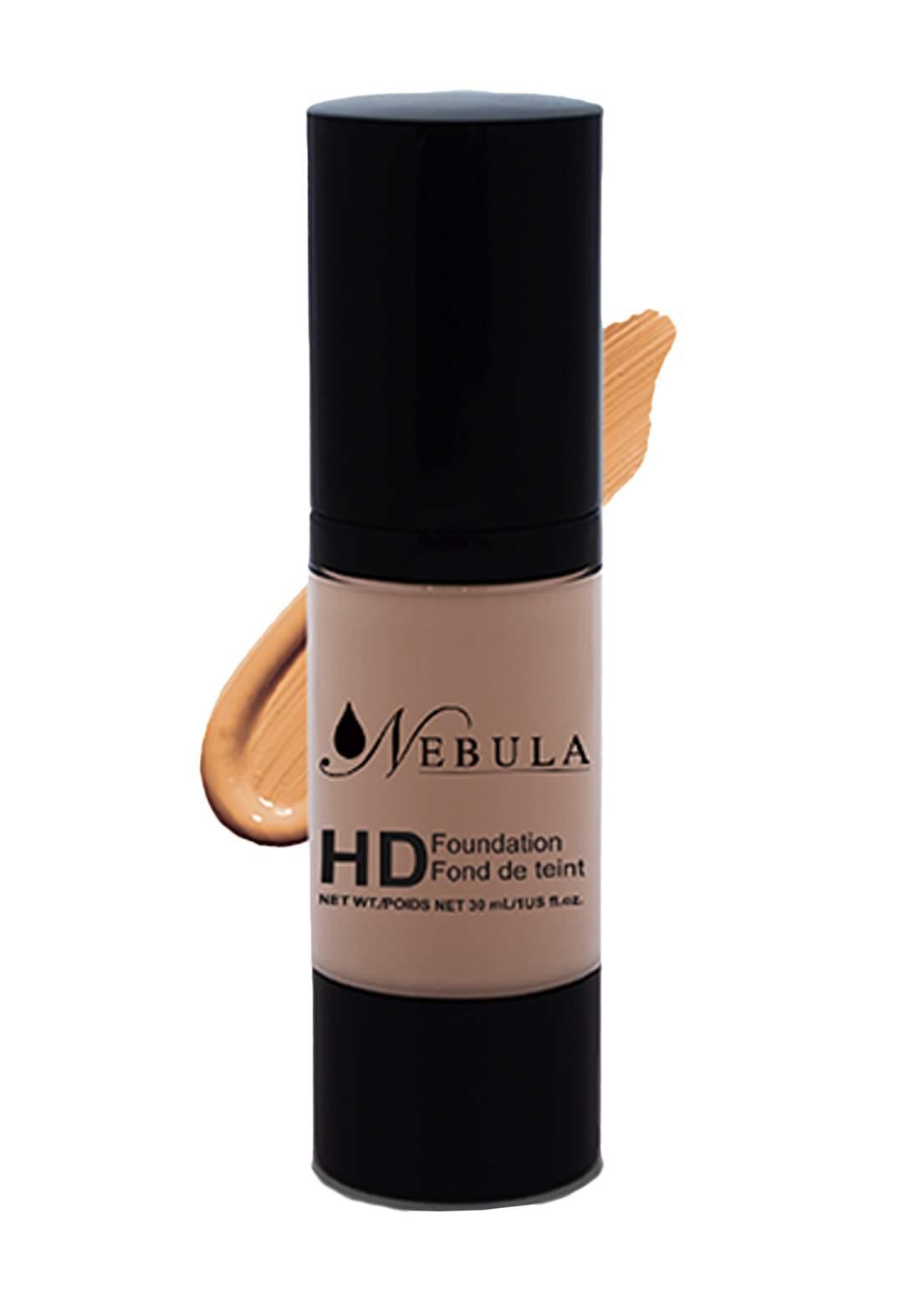 Nebula HD Liquid Fondation-30ml-152-Medium Ivory اساس
