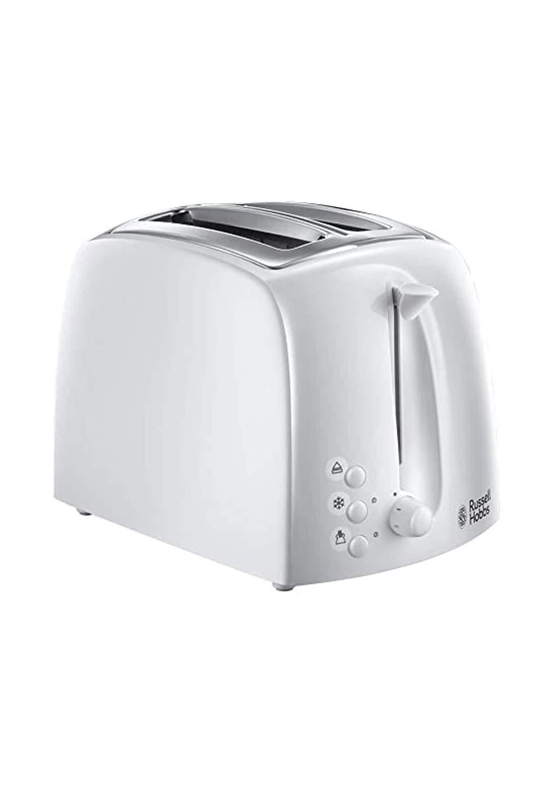 Russell hobbs 21640 Russell Hobbs Textures 2-Slice Toaster محمّصة خبز كهربائية