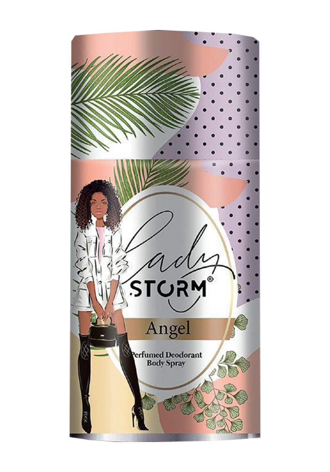 Storm Lady Perfumed Deodorant Body Spray -Angel 250ml  مزيل العرق للنساء