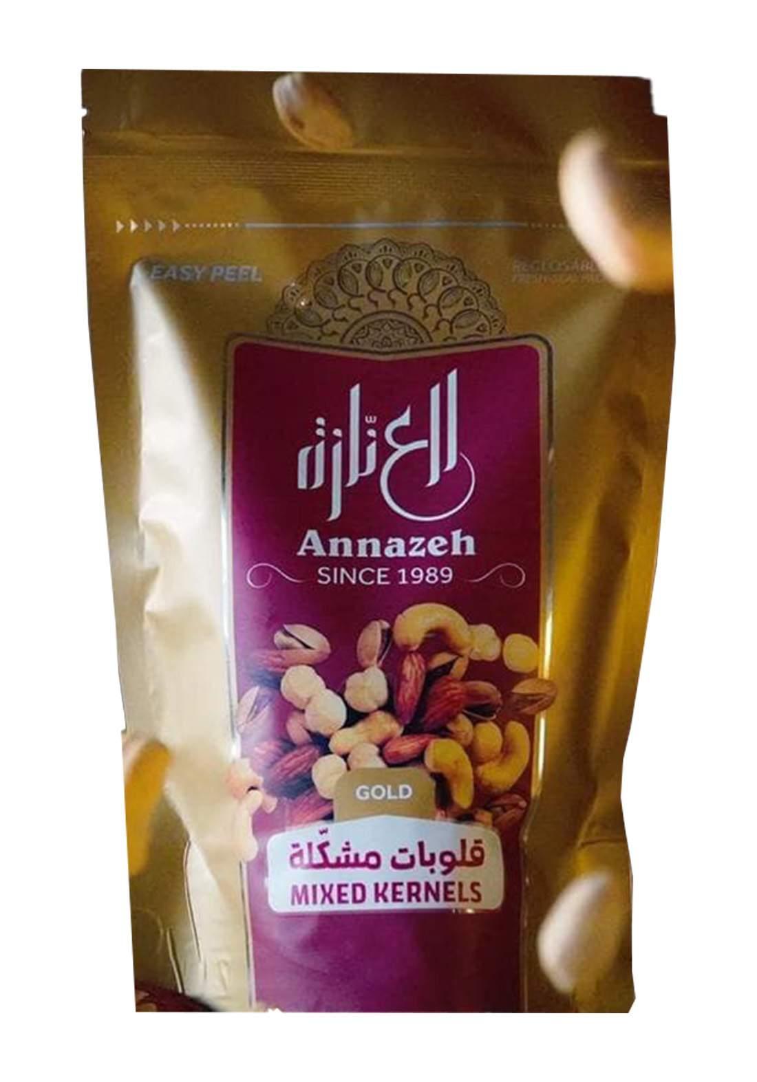 Al-Annazeh Mixed Hearts 250g-Gold مكسرات
