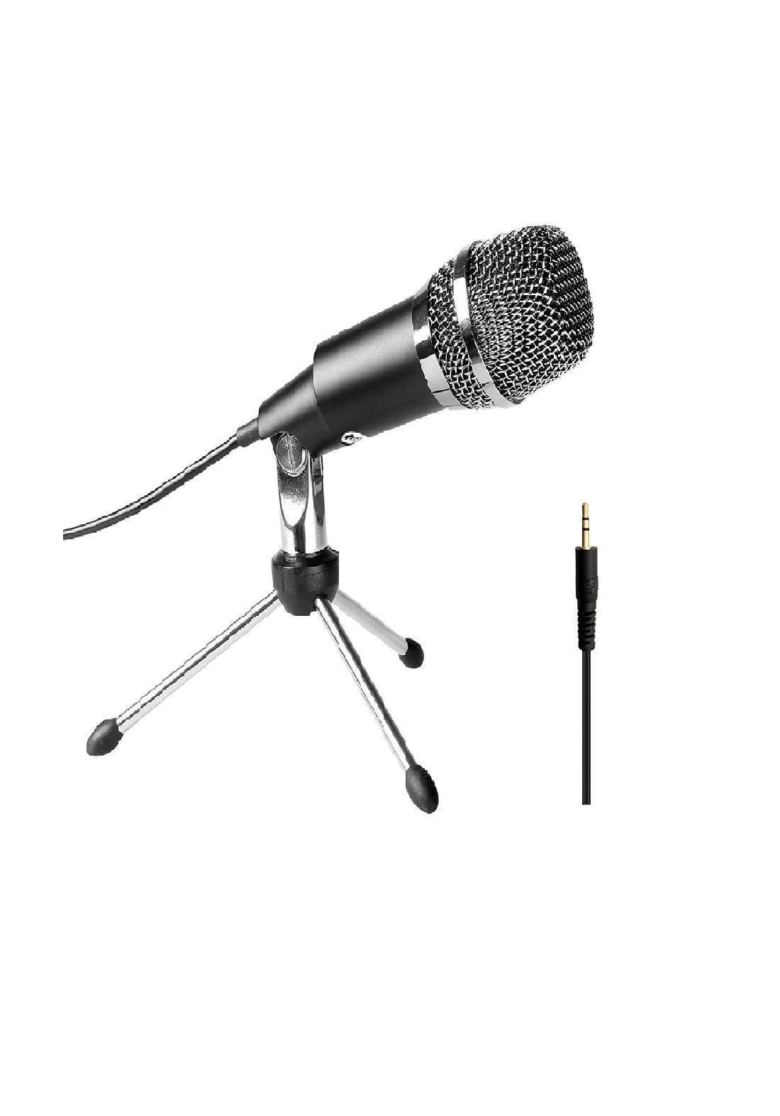 FIFINE K667 Home KTV Handheld Mic Universal Sound Recording Microphone with Tripod Stand for PC & L ميكرفون