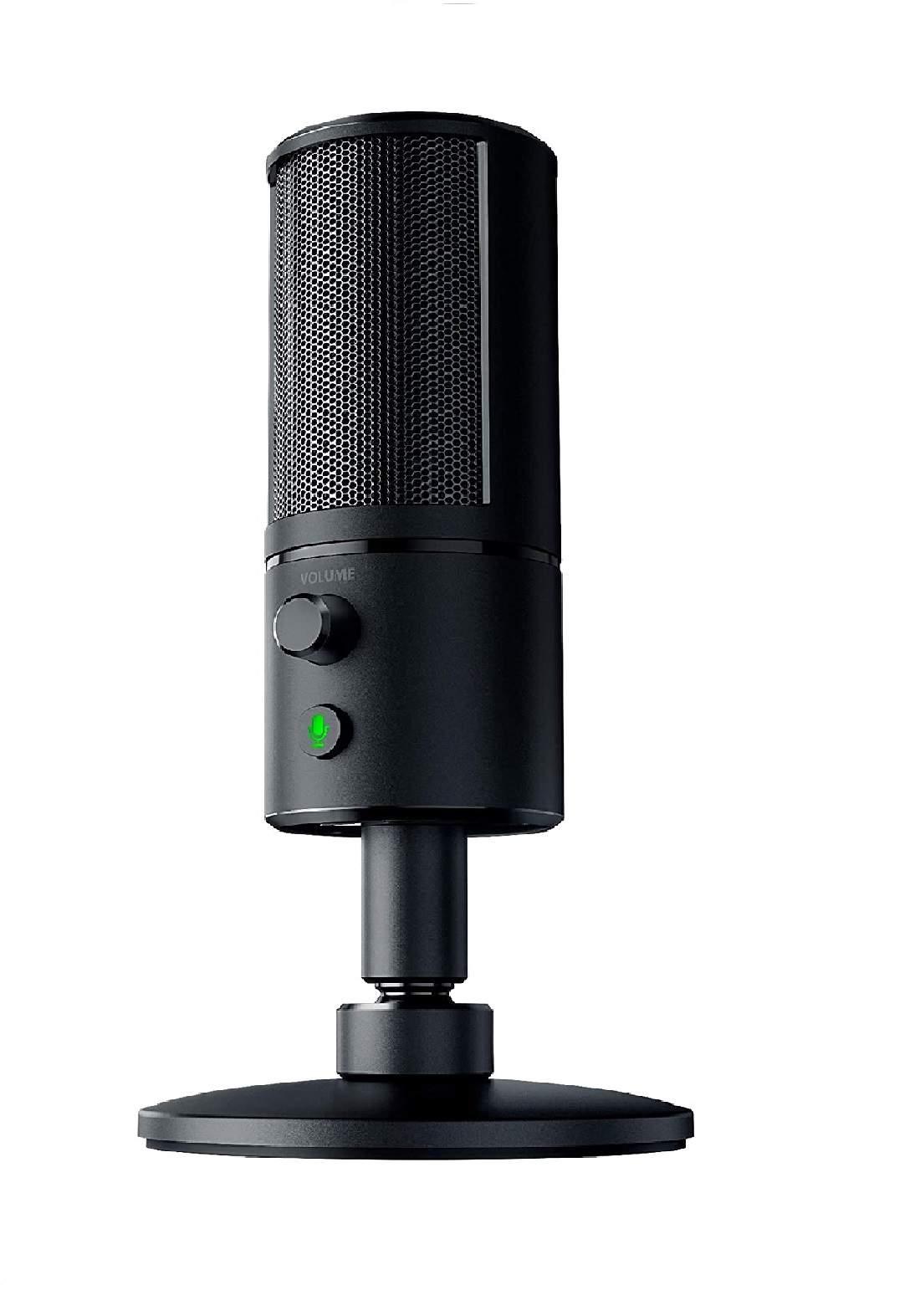 Razer Seiren X Gaming Microphone -Black  ميكرفون