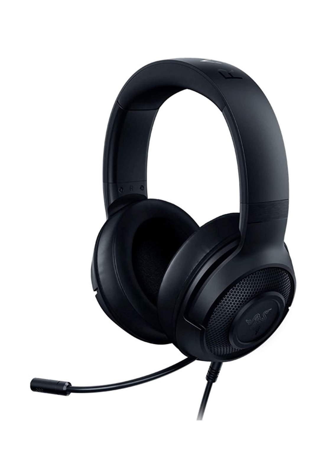 Razer Kraken X Lite Wired Gaming Headset - Black سماعة رأس