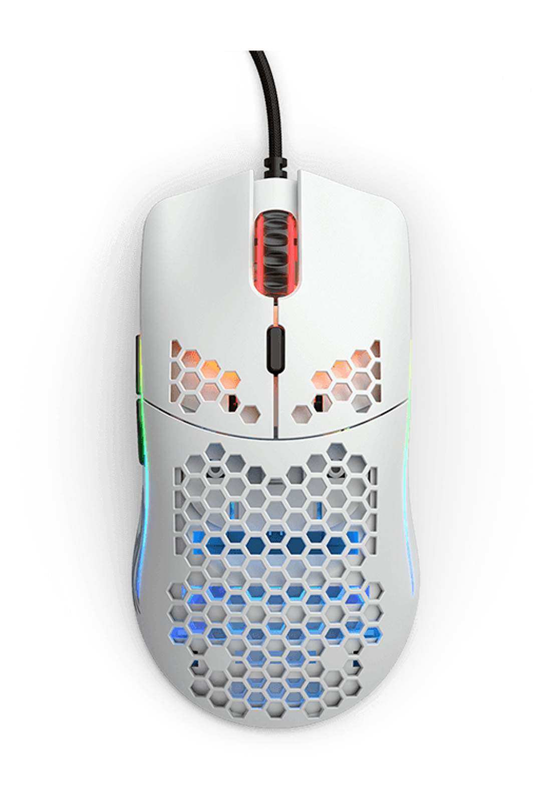 Glorious Model O- Matte Gaming Mouse - White  ماوس