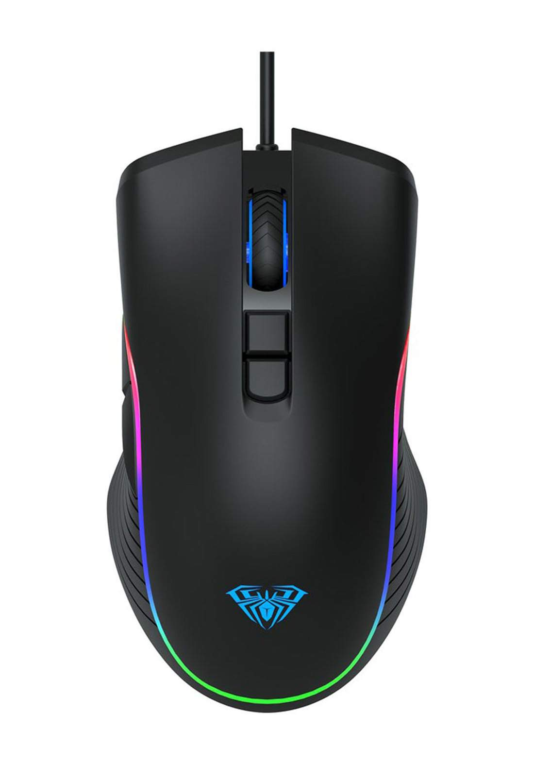 Aula F806 Wired Gaming Mouse - Black ماوس