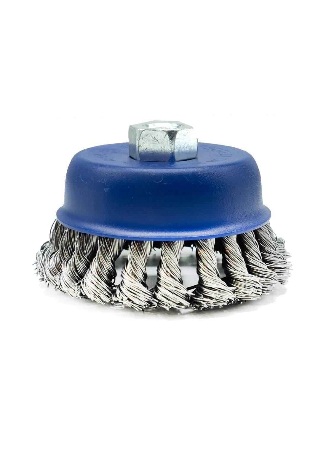 Sali 7223 Brush Inox For Drilling Machine 120 mm فرشاة تنظيف الاسطح المعدنية