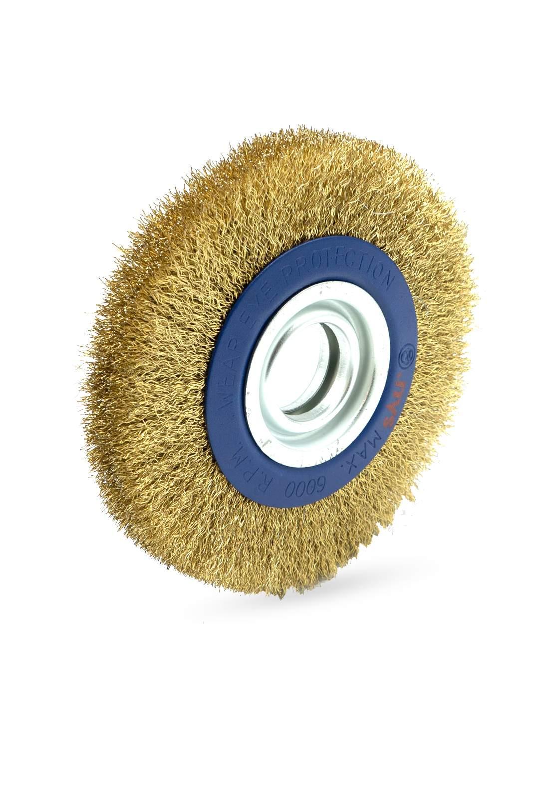 Sali 7230 Tools Wire Brush 120 mm فرشاة تنظيف الاسطح المعدنية