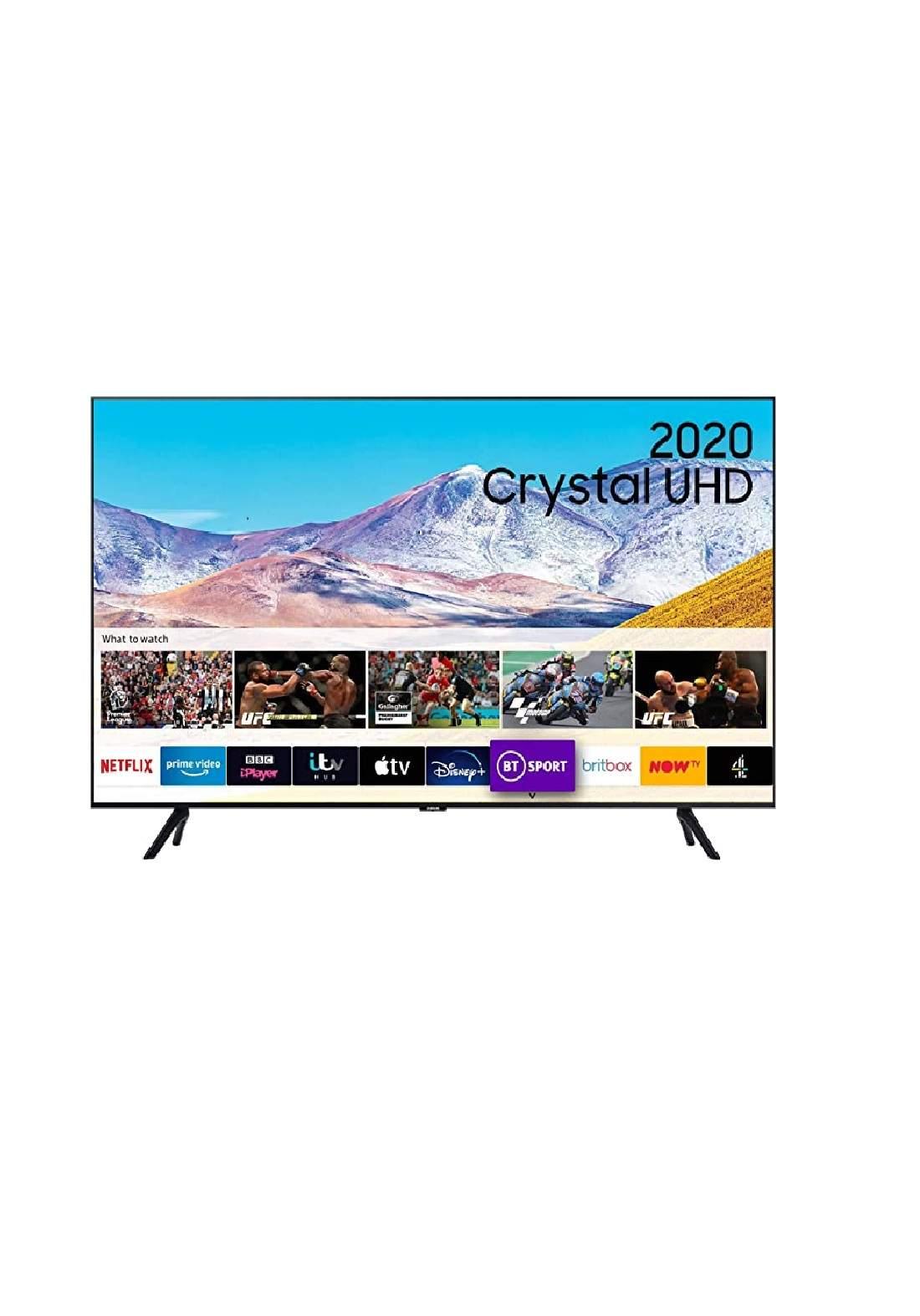 Samsung 75Class TU8000 Crystal UHD 4K Smart TV تلفزيون